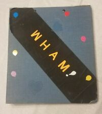 """Home Made 1980's """" WHAM! """" Scrapbook George Michael Newpaper Magazine Clippings"""