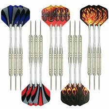12pcs Steel Tip Darts Professional Dart Set Aluminium Dart Flights 18g