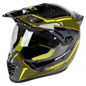 Klim Krios Pro Mekka Vivid Sage Adventure Helmet