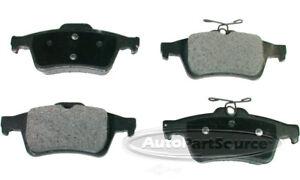 Disc Brake Pad Set-Ceramic Pads Rear Tru Star CBP1095