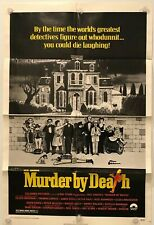 "MURDER BY DEATH Original 27"" x 41"" SS/Folded Movie Poster - 1978"