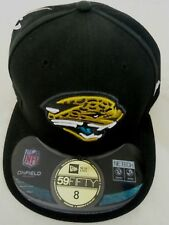 JACKSONVILLE JAGUARS ON FIELD NEW ERA MEN'S OFFICIAL 59FIFTY FITTED HAT/CAP NEW!