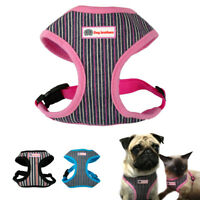Nylon Dog Harness and Leash Soft for Small Medium Large Dogs Walking S M L XL