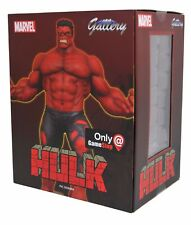 Marvel Gallery RED INCREDIBLE HULK statue Diamond Select PVC Figure Game Stop