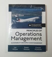 Principles of Operations Management Sustainability Supply Chain Management 10th