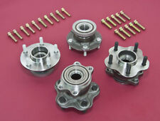 Front & Rear ABS 5-Lug Conversion Hub W/ Extended Studs For 240SX 95-98 S14