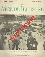Le monde illustré n°4154 - 14/08/1937 Exposition Paris Dentelle Cuisinier Hoerdt