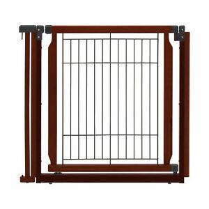 "Richell Convertible Elite Additional Door Panel Cherry Brown 33.9"" x 1.4"" x 31.5"