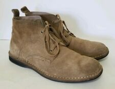 Andrew Marc Dorchester Chukka Brown Suede Mens Shoes Size 10