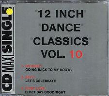 12 INCH DANCE CLASSICS VOL.10 - CD MAXI 3 TRACKS [635]