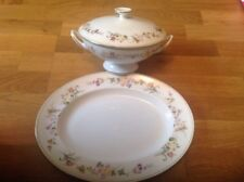 Wedgwood Mirabelle R4537 ( 1 Large Serving Platter & 1 Footed Tureen ) 1stQ