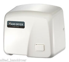 FASTDRY Push Button Hand Dryer (Mod.HK1800PS) 110V/120V