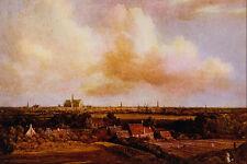 492060 View Of Haarlem Jacob Van Ruysdael A4 Photo Print