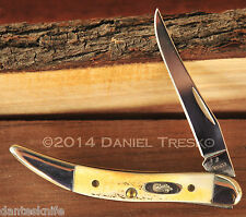 Case Knives Classic Genuine Stag Small Texas Toothpick C5532