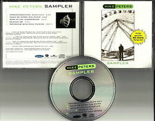 The Alarm MIKE PETERS Sampler INTERVIEW w/ 3 ACOUSTIC & EDIT PROMO DJ CD Single