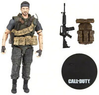 "Frank Woods McFarlane Toys ACTIVISION Call of Duty Bruce Lee OPS III 7/"" Action Figure"
