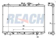 Radiator-GAS Reach Cooling 41-13024 fits 2008 Toyota Highlander