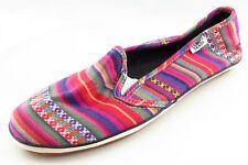 VANS Size 7.5 M Multu Loafer Fabric Women Shoes