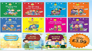 Akhlaaq series & Childrens- Islamic Books Muslim Fun Activity Kids