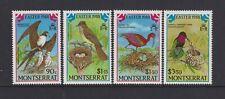 Montserrat - 1988, Ostern, Vögel Set - MNH - Sg 748/51