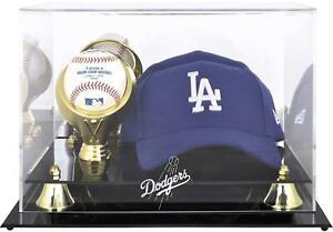 Los Angeles Dodgers Acrylic Cap and Baseball Logo Display Case - Fanatics