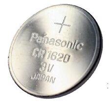 3 Stück Knopfzelle Batterie CR1620 3V 75mAh Li-Mn PANASONIC Original im Minigrip