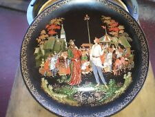 """Bradex 1989 Russian Legends Collector Plate """"The Priest and his Servant Balda """""""