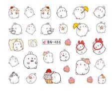 Nail Art Decals Transfers Stickers Cartoon Character Little Fella (DB486)