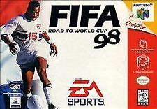 FIFA: Road to World Cup 98 (Nintendo 64) N64 Cartridge Soccer OG Russia Kids FUN