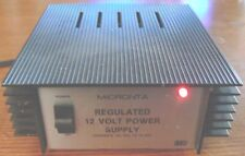 Radio Shack Micronta 12 Volt 2.5 Amps Regulated Power Supply 22-120A Excellent