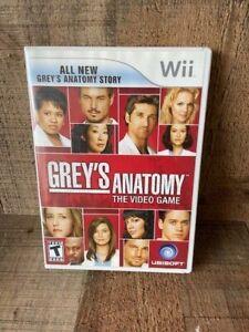 Grey's Anatomy: The Video Game (Nintendo Wii, 2009)