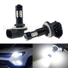 2x 50W 881 886 894 896 LED Fog Light DRL Lamps Bulbs Ultra White High Power GE