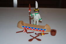 Playmobil 3251 e) Indio Indian Western Oeste Vintage blanco