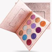 12 Farben Lidschatten Palette Matt Glitter Make-up Schimmer Lidschatten Kosmetik