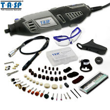 TASP 170W Electric Dremel Grinder Rotary Drill Tool 5 Variable Speed Set 140PCs