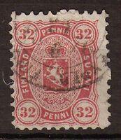 Finlande N°20 32p Rose Dentelé 11. P140
