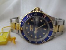 Invicta Automatic 24 Jewels Watch 200M WR Professional Two Toned WORKING!