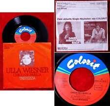 Single Ulla Wiesner: Chico de Favella / Tristeza (Colorit 1C 006-41 075) D 1974