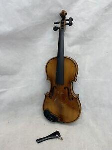 """Vintage Childs Violin For Restoration. Back Measures 11.25"""""""