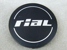Original RIAL Nabenkappen N32 schwarz matt für Alufelgen Nabendeckel N 32 64/60