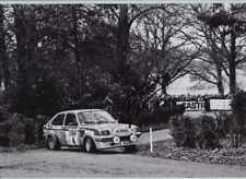 Pentti Airikkala Vauxhall Chevette 2300 Hs Rally Rac 1977 Firmado fotografía 2