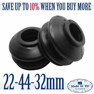 2 X High Quality Rubber Dust Cover 22 44 32 Track Rod End Ball Joint Dust Boots