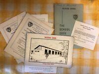 Vintage Dalriada school code book plus various Dalriada Ephemera