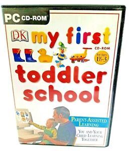 My First Toddler School CD-ROM PC Platform  for Ages 1 1/2 - 3 years