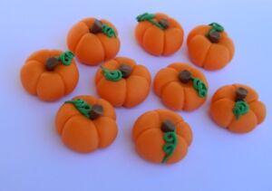 7 edible 3D PUMPKIN VEGETABLES PETER RABBIT cake topper decoration garden