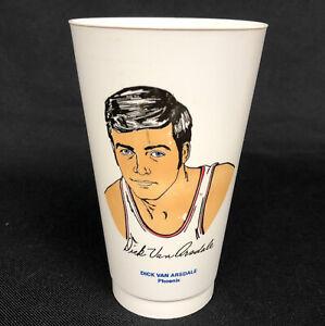 Vintage 70's Dick Van Arsdale Phoenix Suns NBA 7-11 Slurpee Cup In EUC