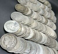 $5 in Morgan Dollars (Circulated) - Silver Coins Lot Sale - Free Shipping