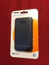 AGF Black Leather Inlay Case - Samsung Galaxy S2 - Retail $35