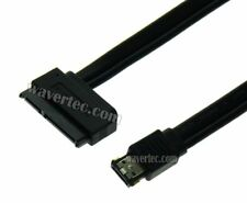 50cm eSATA to SATA Cable with Power 22 Pin SATA Female to eSATA Port Adapter FRY