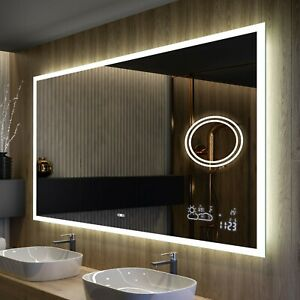 Miroir de Salle de Bain Lumineux LED   80x60 100x80 120x60 120x70 120x80 140x80